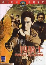 Four Riders (1972) DVD [NON-USA REGION 3] IVL English Subtitles Shaw Brothers