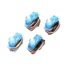 4Pcs 3.7g Mini Micro Servo for RC Helicopter Car Boat Aircraft Plane Motor