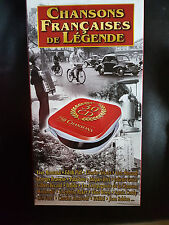 CHANSONS FRANCAISES DE LEGENDE - 30 CD with Carry case - VGC -