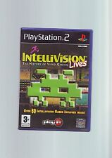 INTELLIVISION LIVES - 60+ GAMES - SONY PS2 GAME / 60GB PS3 COMPATIBLE - COMPLETE