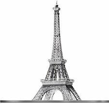 Eiffel Tower : Iconx Metal Earth 3D Corte Láser Kit Modelo Miniatura 1 lámina
