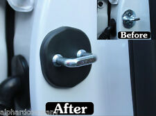 Door Striker Cover Set Door Hook Cover 4pcs for 2011+ KIA PICANTO
