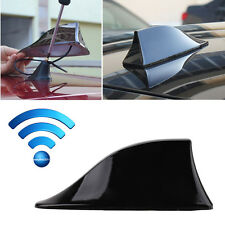 Black Universal Car SUV Radio AM/FM Signal Shark Fin Aerial Antenna Replacement