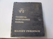Massey Ferguson Technical Service Manual, Tractor,Combine Service Manual