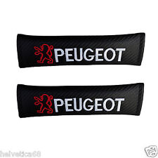 for Peugeot a pair car seat belt shoulder pads covers