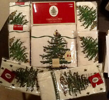 SPODE CHRISTMAS TREE 20 PC SET 16 NAPKINS 60 X 144 TABLECLOTH 2 TOWELS & RUNNER