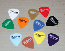 10 (TEN) Silvertone Promo Music Assorted Colors  Guitar Picks *MIX AND MATCH*