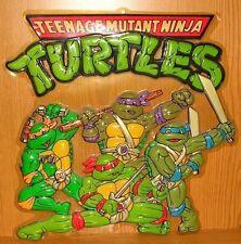 TMNT Teenage Mutant Ninja Turtles 1990 Jahre 3D Wandbild 45x45cm