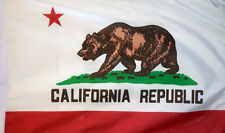 3' x 2' California State Flag American USA US United States of America Banner