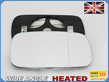 Wing Mirror CAR Glass Saab 9-3 1998-2002 Wide Angle HEATED Right Side #SA004