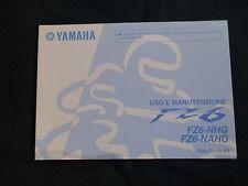 Uso e manutenzione Yamaha FZ 600 FZ6 - NHG / NAHG (5S5) Modello dell'anno 2009