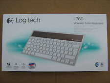 LOGITECH K760 Wireless Solar Keyboard English Russian Layout iPad Mac K-760 NEW