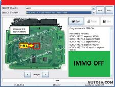 Universal Decoding 3.2 and IMMOKILLER- BEST Software to REMOVE IMMO OFF DELETE