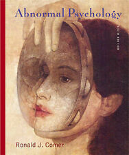 Abnormal Psychology by R. Comer (Hardback, 2006)