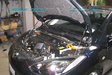 07-14 Mazda2 Mazda 2 DE Hatchback Silver Carbon Strut Hood Shock Lift Damper
