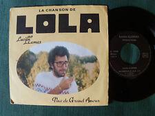 """LUCIEN LLAMAS : La chanson de Lola - 7"""" SP AUTOPROD LL 1944 AVIGNON"""