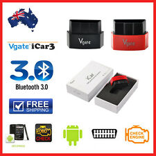 Genuine Vgate iCar3 Bluetooth ELM327 OBD2 Car Diagnostic Scan Tool for Android