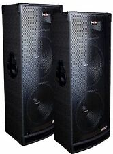 "2 Epic Audio EPX15.24C DUAL 15"" 3300 Watt DJ/PA/PRO Speaker 3-Way 4-Ohm Passive"