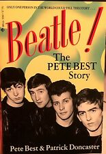 BEATLE! The PETE BEST STORY Autographed First Edition Beatles Drummer Signed