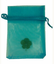 GENUINE REAL 5 FIVE LEAF CLOVER WEDDING FAVOUR WITH CERTIFICATE OF AUTHENTICITY