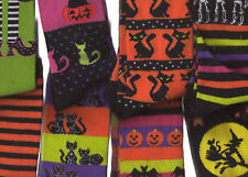 Halloween Socks Lot of 2 Assorted Women sock size 9-11 New ZZ1 random