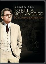 To Kill a Mockingbird 50th Anniversary Edition Gregory[DVD] NEW [TRAILER INSIDE]
