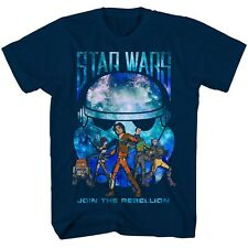 Star Wars Rebels TV Series T-Shirt Join the Rebellion - Boys Size 4 - New w/Tags