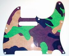 NEU PICKGUARD TELECASTER design Tarnung für Fender, Squier oder andere tele usw