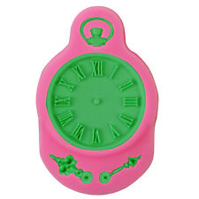 Time Clock Silicone Cake Mould Fondant Sugar Craft Chocolate Decorate Tool