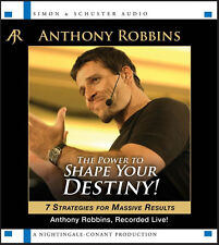 NEW The Power To Shape Your Destiny ANTHONY TONY ROBBINS 5 CD Nightingale Conant