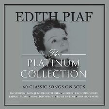 Edith Piaf PLATINUM COLLECTION Best Of 60 Songs ESSENTIAL COLLECTION New 3 CD
