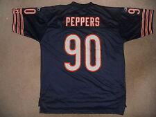 CHICAGO BEARS NFL FOOTBALL JERSEY #90 JULIUS PEPPERS REEBOK SEWN XL LENGTH +2