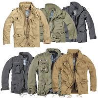 Brandit M65 Standard & Giant Military Parka Jacke Fleece 2in1 Innenjacke Herren