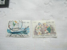 IRELAND 1992 USED  SETS OF2  STAMPS OLYMPICS SG 834-5 059
