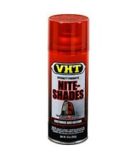 RED VHT NITE SHADES Tail Light Tint Taillight Tinting Spray Paint RESTORE FADED