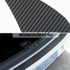 REAR BUMPER PROTECTION CARBON FIBER STICKER TRIM FOR VW GOLF MK6 GTI R20