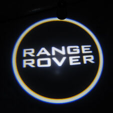 2x For Range Rover CREE LED car door logo shadow laser projector welcome light