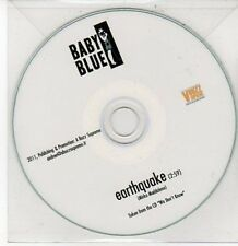 (DD453) Baby Blue, Earthquake - 2011 DJ CD