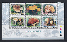 KOREA 2002 MUSHROOMS CHAMPIGNONS  set VF MNH