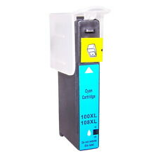 Reman ink Cartridge for Lexmark 100XL (Cyan) use in Lexmark Prospect Pro 208