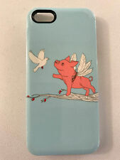 Gelaskins iPhone 5, 5S, SE hard cover When Pigs Fly with Dove, plastic, CUTE!
