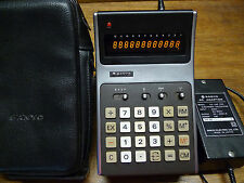 SANYO CX-2105 ULTRA EARLY VINTAGE CALCULATOR WORKS PERFECTLY!