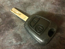 PEUGEOT 107 AYGO C1 2 BUTTON ALARM CENTRAL LOCKING KEY FOB 73373067B