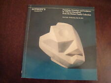 Sothebys Alberto Giacometti - the Ratner Collection 1984   16/85