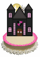In piedi DECORAZIONI PER TORTA wafer commestibile Sturdy CARD MONSTER HIGH CASTELLO