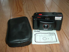 Vivitar PS:10 plastic focus free simple camera with flash. Collector item