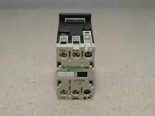 Schneider CA3 SK11BD TeSys 27mm 24VDC IEC Control Relay Auxiliary Contactor Unit