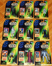 STAR WARS EXPANDED UNIVERSE 3D PLAYSCENE KENNER COLLECTION 2 EU SET JEDI SITH