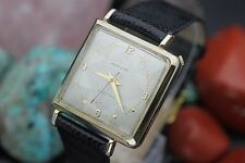 "Vintage HAMILTON Electric Cal. 500 ""VICTOR"" 10K Gold Filled Asymmetric Watch"