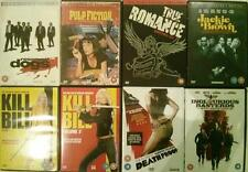 QUENTIN TARANTINO 8 Film Set Reservoir*Pulp*Inglorious*Jackie  Cult DVD *EXC*
